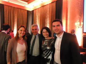 With Dr. Raya Saab and Dr. Sima Jeha