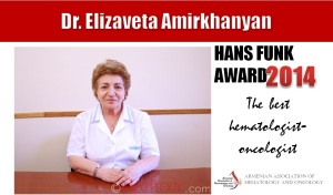 Hans Funk Award - Dr Elizaveta Amirkhanyan