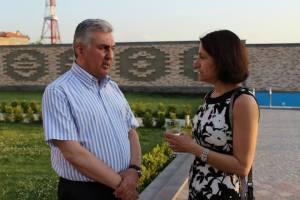 Dr. Sima Jeha and Dr. Samvel Danielyan
