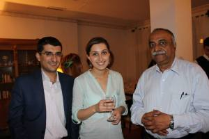 Drs. Pendharkar, Harutyunyan and Avagyan