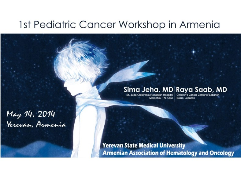 1st Pediatric Cancer Workshop in Armenia