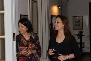Dr. Sima Jeha and Dr. Raya Saab