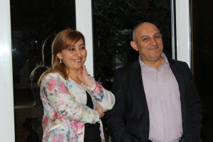 Mr and Mrs Kocharyan
