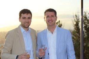 Dr. Miklos Simon and Dr. Hovhannes Vardevanyan