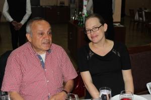 Prof. Mihran Nazaretyan and Mrs. Vanessa Eaton