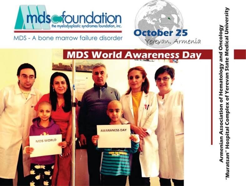 MDS Awareness Day - October 25 - Armenia