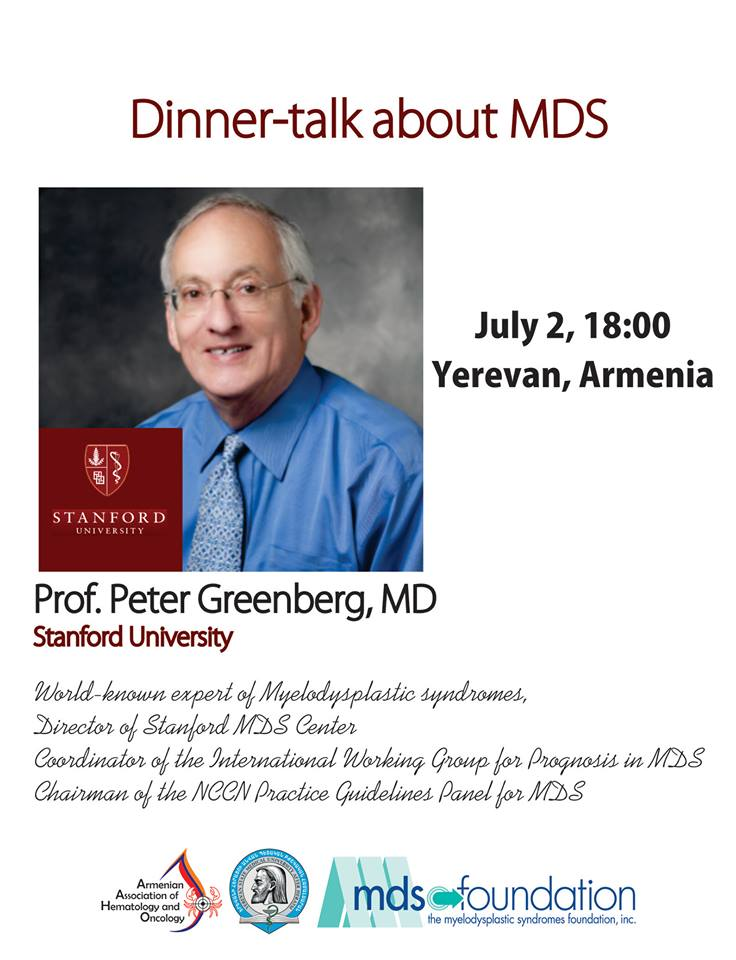 Dinner talk with Peter Greenberg
